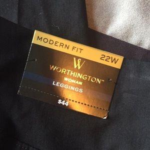 Worthington Pants - Black Modern Fit Leggings